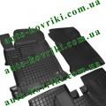 Резиновые коврики в салон Honda Accord IX 2013-2017 (Avto-Gumm)