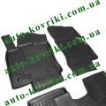 Резиновые коврики в салон Seat Leon 2012- (5-дверей) (Avto-Gumm)