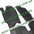 Резиновые коврики в салон Skoda Fabia I 2000-2007 (Avto-Gumm)