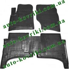 Резиновые коврики в салон Volkswagen Touareg 2002-2010 (Avto-Gumm)