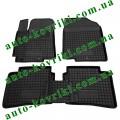Резиновые коврики в салон Hyundai Accent 2010- (Avto-Gumm)