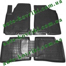 Резиновые коврики в салон Kia Ceed 2006-2012 (Avto-Gumm)