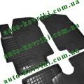 Резиновые коврики в салон Kia Rio 2006-2010 (Avto-Gumm)