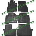 Резиновые коврики в салон Mitsubishi Grandis 2003- (7-местный) 7шт (Avto-Gumm)
