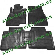 Резиновые коврики в салон Mitsubishi Grandis 2003- (5-местный) (Avto-Gumm)