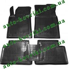 Резиновые коврики в салон Peugeot 508 2010- (Avto-Gumm)