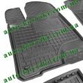 Резиновые коврики в салон Toyota Highlander 2014-2019 (Avto-Gumm)