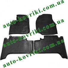 Резиновые коврики в салон Toyota Land Cruiser 100 1997-2007 (Avto-Gumm)