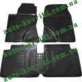 Резиновые коврики в салон Toyota Avensis II 2003-2009 (T25) (Avto-Gumm)