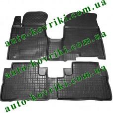 Резиновые коврики в салон Honda CR-V 2007-2012 (Avto-Gumm)