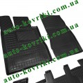 Резиновые коврики в салон Mercedes W220 (Avto-Gumm)