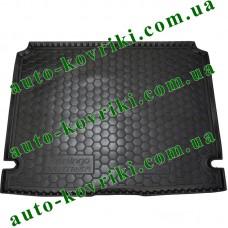 Коврик багажника резиновый Peugeot Partner 2008- (пассажир) (Avto-Gumm)