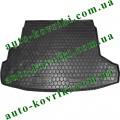 Коврик багажника резиновый Nissan X-Trail (T-31) 2007- (с органайзером) (Avto-Gumm)