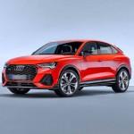 Автомобильные коврики для Audi Q3 2020-