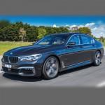Автомобильные коврики для BMW 7 (G11-кузов) 2015-