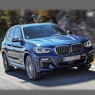 BMW X3 (G01-кузов) 2017-