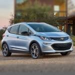 Автомобильные коврики для Chevrolet Bolt 2016-