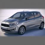 Автомобильные коврики для Ford Ka III 2014- / Ka+ 2014-