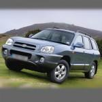 Автомобильные коврики для Hyundai Santa Fe I 2001-2006
