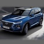 Автомобильные коврики для Hyundai Santa Fe IV 2018-