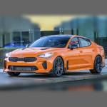 Автомобильные коврики для KIA Stinger 2017-