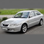 Автомобильные коврики для Mazda 626 1997-2002