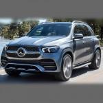 Автомобильные коврики для Mercedes W167 GLE 2018-2020
