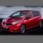 Автомобильные коврики для Nissan Note 2012-2020 (E12)