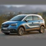 Автомобильные коврики для Opel Crossland X 2019-