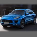 Автомобильные коврики для Porsche Macan 2014-