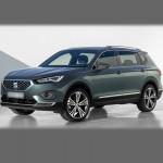 Автомобильные коврики для Seat Tarraco 2018-