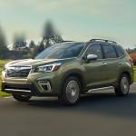 Автомобильные коврики для Subaru Forester SK 2018-