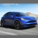 Автомобильные коврики для Tesla Model Y 2020-
