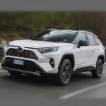 Автомобильные коврики для Toyota RAV4 2018-2020