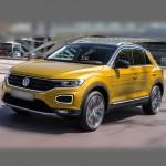 Автомобильные коврики для Volkswagen T-Roc 2017-