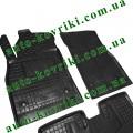Резиновые коврики в салон Chevrolet Cruze II 2008-2016 (Avto-Gumm)