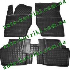 Резиновые коврики в салон Citroen C4 2010- (Avto-Gumm)