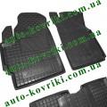 Резиновые коврики в салон Daewoo Matiz 1998- (Avto-Gumm)