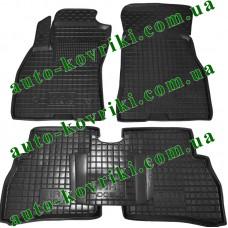 Резиновые коврики в салон Fiat Doblo 2009- (Avto-Gumm)