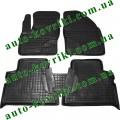Резиновые коврики в салон Ford C-Max 2005-2010 (Avto-Gumm)