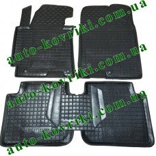 Резиновые коврики в салон Hyundai Elantra V 2011- (Avto-Gumm)