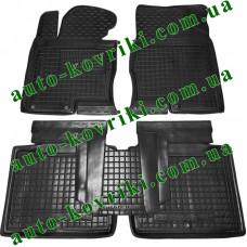 Резиновые коврики в салон Hyundai Grandeur 2011- (Avto-Gumm)