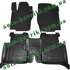 Резиновые коврики в салон Mercedes W164 2005-2011 ML (Avto-Gumm)