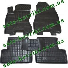Резиновые коврики в салон Nissan X-Trail (T-31) 2007- (Avto-Gumm)
