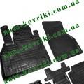 Резиновые коврики в салон Renault Kangoo 2010- 5шт (Avto-Gumm)
