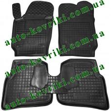 Резиновые коврики в салон Seat Ibiza 2012- (Avto-Gumm)