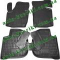 Резиновые коврики в салон Skoda Rapid (Avto-Gumm)