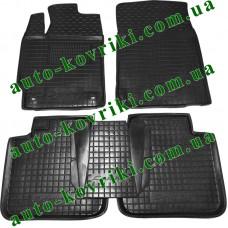 Резиновые коврики в салон Toyota Camry XV50 2011 (Avto-Gumm)