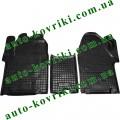 Резиновые коврики в салон Opel Vivaro 2001- (Avto-Gumm)