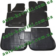 Резиновые коврики в салон Volkswagen Caddy 2003- (1 боковая дверь) (Avto-Gumm)